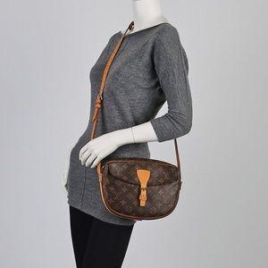 Authentic Louis Vuitton Jeune Fille Crossbody Bag